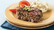 Zucchini Meat Loaf Recipe