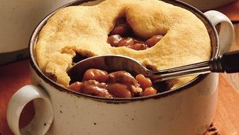 Beef and Bean Pot Pie