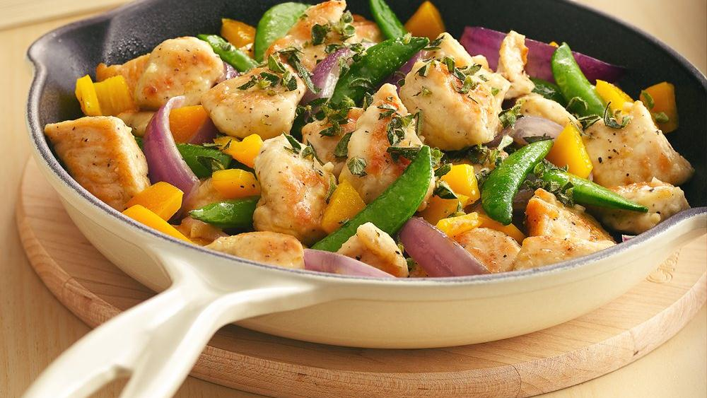 Oregano Chicken Stir-Fry