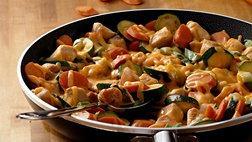 Cheesy Chicken Skillet Dinner