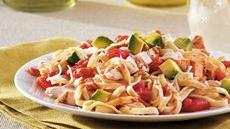Southwest Chicken and Linguine Recipe