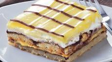 Chocolate-Vanilla Layered Bars Recipe