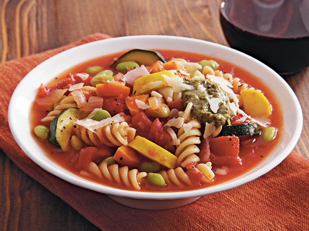 Slow Cooker Veggie Lovers Minestrone
