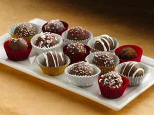 Holiday Cake Bon Bons