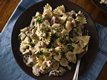 Creamy Wild Mushroom and Bow-Tie Pasta