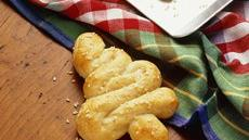 Tree-Shaped Breadsticks Recipe