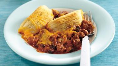 Chili Pot Pie