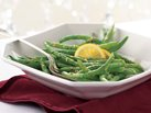 Healthified Green Beans with Lemon-Herb Butter