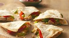 Fiesta Chicken Quesadillas Recipe