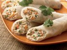 Tuna Rice-Paper Wraps