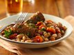 Slow Cooker Great Northern Bean and Veggie Sausage Cassoulet