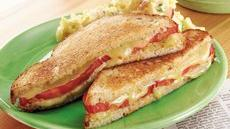 Tomato-Dill Grilled Cheese Sandwiches (Cooking for 2) Recipe