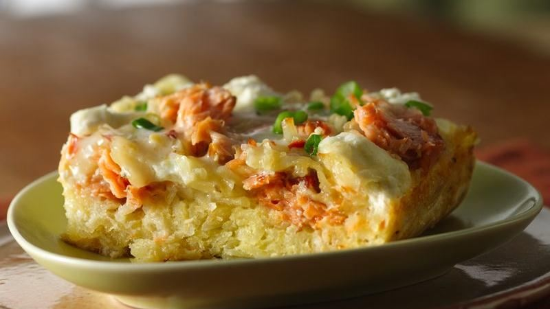 Smoked Salmon And Bagel Breakfast Casserole Recipes — Dishmaps