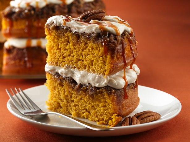 Praline-Pumpkin Cake