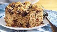 Chocolate Streusel Banana-Carrot Cake Recipe