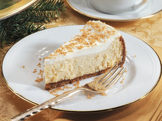 Spiced Cider Cheesecake