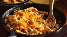 Cheesy Barbecue Beef Rigatoni Recipe