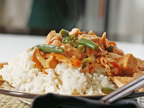 Salmon Stir-Fry