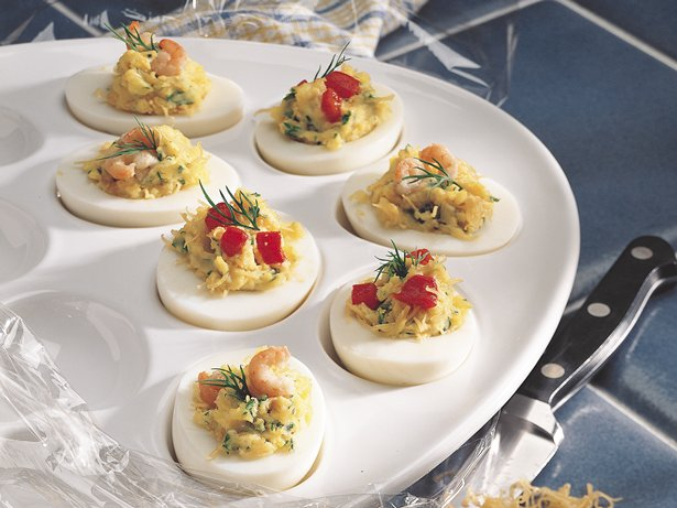 Gluten Free Zesty Deviled Eggs