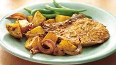 Roasted Rosemary Pork Chops and Potatoes Recipe
