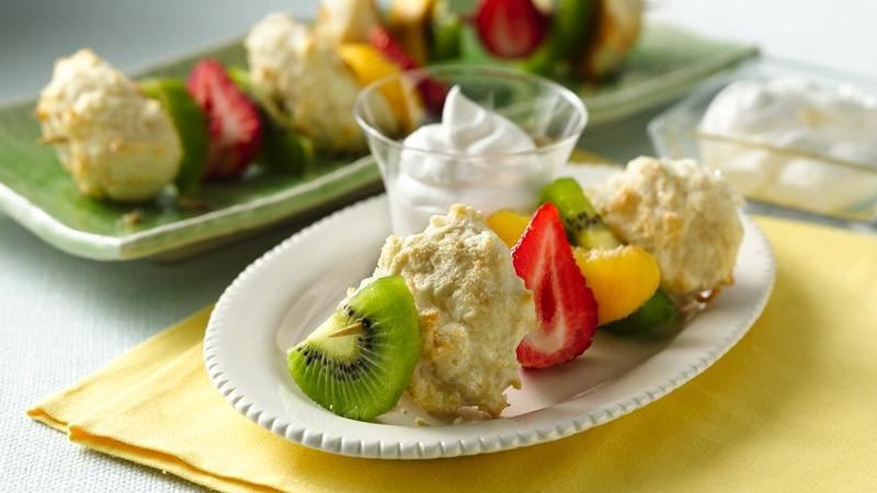 Fruit n' Shortcake Kabobs
