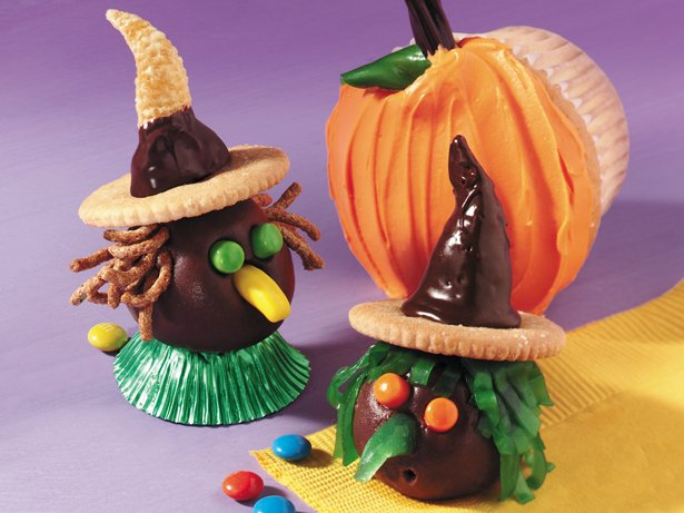 Chocolate-Peanut Butter Witches
