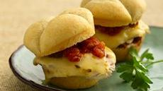 Southwest Melted Cheese and Chicken Sandwiches Recipe