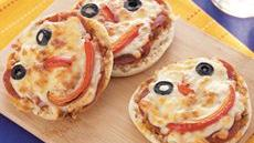 Mini Monster Pizzas Recipe