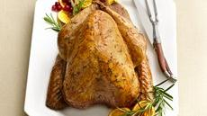 Beer and Rosemary Roasted Turkey Recipe