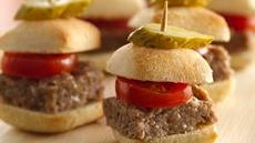 Burger Bites Recipe