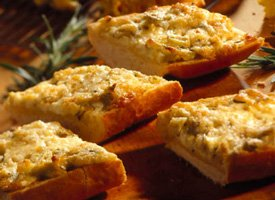 Image of Artichoke-rosemary Bruschetta, Betty Crocker