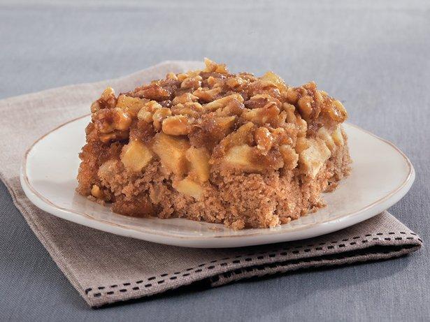 Upside-Down Apple-Spice Cake recipe from Betty Crocker