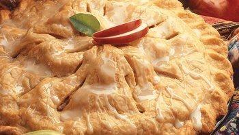 Maple-Frosted Apple Pan-Tart