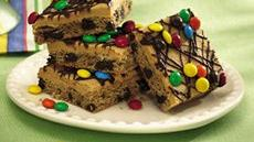 Peanut Butter-Chocolate Chip Cookie Bars (cookie dough tub) Recipe