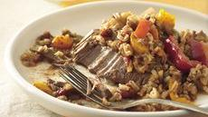 Slow Cooker Tex-Mex Steak and Rice Recipe