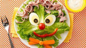 Clown Face Salad