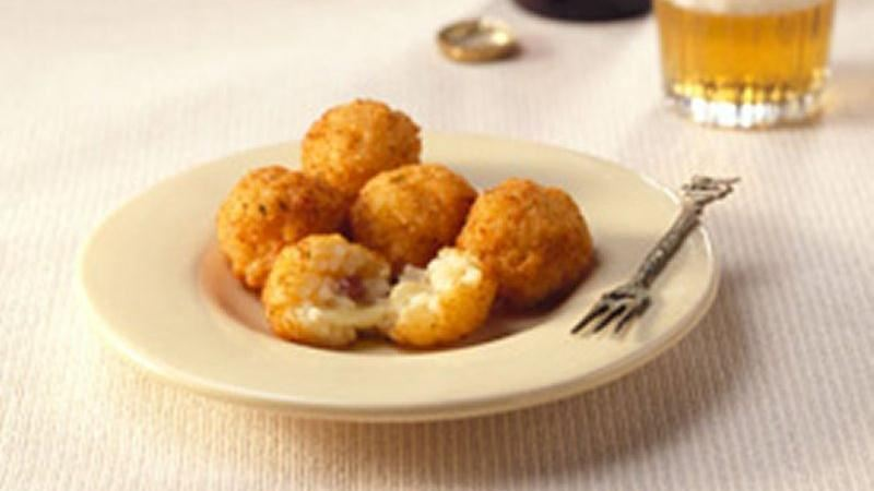 Filled Rice Fritters