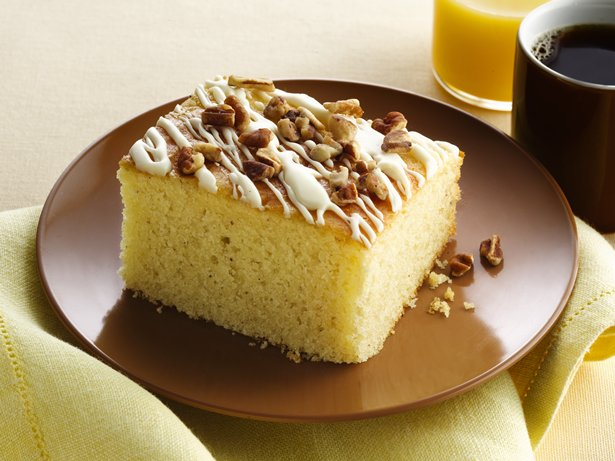 Gluten Free Eggnog Breakfast Cake