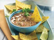 Slow Cooker Spicy Sausage Nacho Dip