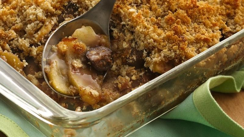 Apple-Fig Brown Betty recipe from Betty Crocker