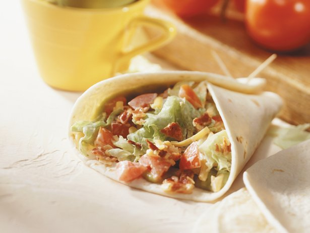 Burrito BLT Wraps
