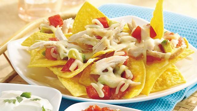 Super Chicken Nachos