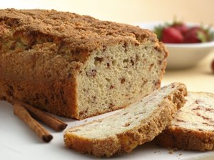 Cinnamon&#32;Streusel&#32;Quick&#32;Bread