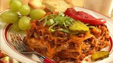 Make-Ahead Cheeseburger Lasagna Recipe