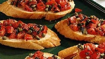Tomato Basil Bruschetta Recipe
