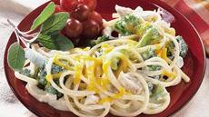 Chicken and Linguine Divan Recipe