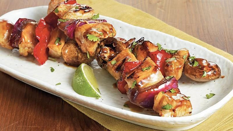 Asian Chicken Kabobs