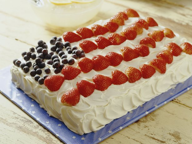 Flag Cake