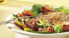 Grilled Chicken and Squash Salad with Lime-Taco Dressing Recipe