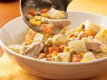 Slow Cooker Chicken Alfredo Stew